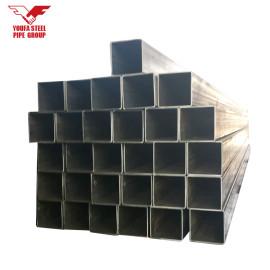 ASTM A500 tubo de acero cuadrado / rectangular soldado MS precio de tubos de acero sitio web de alibaba