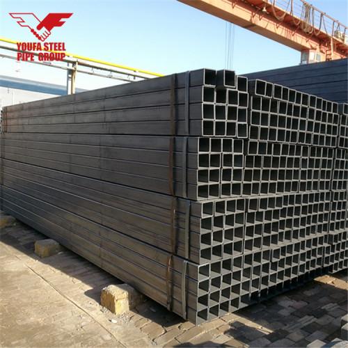 Tianjin youfa group fabricante precio de tubería de hierro galvanizado por inmersión en caliente de acero al carbono