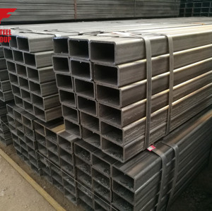 Q235B 100*100MM MILD STEEL WELDING SQUARE PIPE
