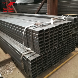 SCH40 carbon square steel pipes or tubes
