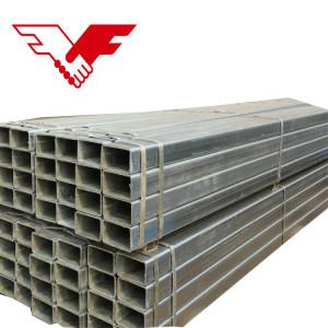 正方形の管20x20 mmの鋼鉄は温室のための正方形の中空管のgiの管に電流を通しました