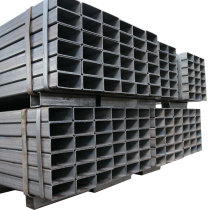 Low carbon 1 inch square iron pipe with black coating