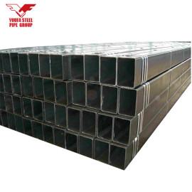 Q195-Q235 acero galvanizado pre 20 * 20 ms precio de tubo cuadrado galvanizado filipinas