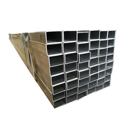 Tubo o tubería de acero de la marca Tianjin YOUFA / Acero cuadrado y rectangular pregalvanizado