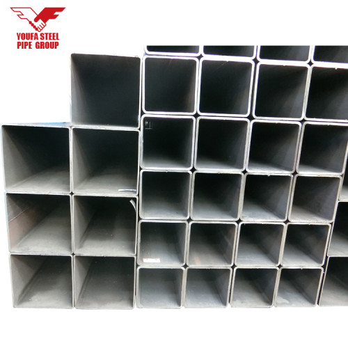 Rectangular Galvanized iron tube for building construction
