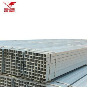 Оцинкованные квадратные полые стальные трубы цены