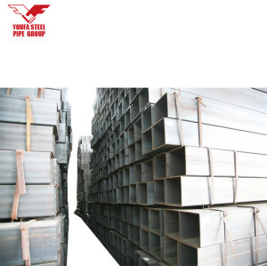 hot dip galvanized steel rectangular / square hollow section/ SHS