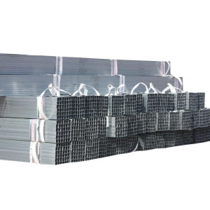 سعر المصنع مستطيلة أجوف قسم أنابيب الصلب مربع 120X120