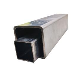 ASTM A500, EN 10219 Tubo de acero cuadrado galvanizado y tubo de tubería rectangular