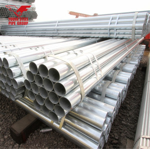 ROUND GALVANIZED STEEL TUBE 4 INCH