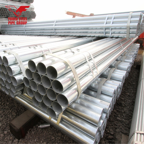 BS 1387 galvanized iron pipe price