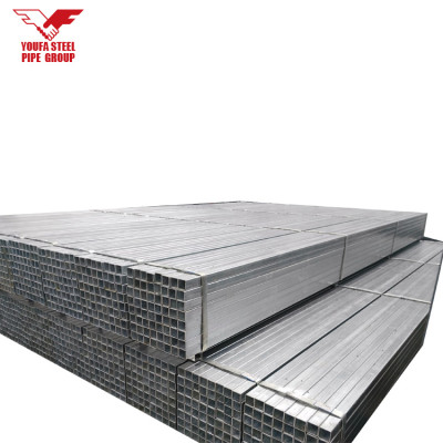 China factory 150x150 gi steel square pipe made in china with high quality