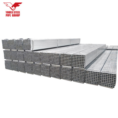 q235 material hot dipped galvanized square steel pipes or tubes