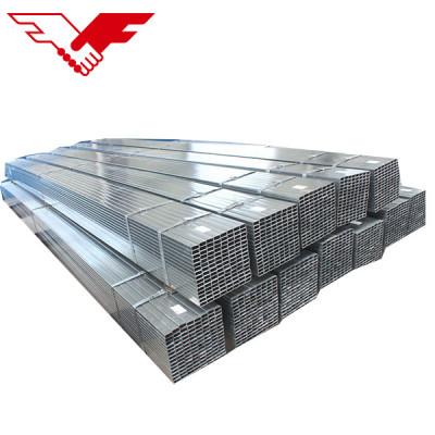 Q195 Q235 Q345 galvanized square steel pipe and tube