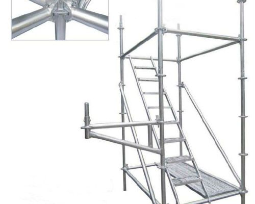 Ringlock Scaffolding is the latest wedge lock system which is easy assembly and time saving.