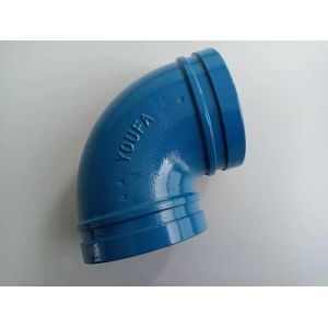 ASME Welding Seamless Pipe Fitting A234 WPB Carbon Steel 90 Degree Long Radius Elbow