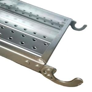Hot Dipped Galvanized steel plank for kwikstage scaffold Walk Board Platform
