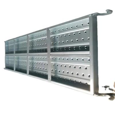 Galvanized Scaffold Platform Steel Plank for Frame Scaffolding Steel Plank With Hook