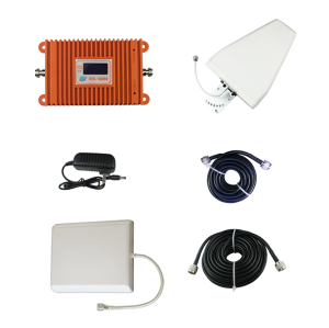 Orange Dual Band 3G 4G Cell Phone Booster  4G1800/ 3G2100 mobile phone repeater