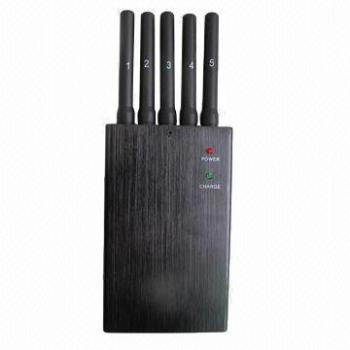 GPS signal portable  cell phone signal jammer