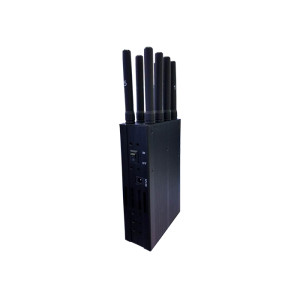Handheld power GPS L1 L2 L5and WIFI 2.4G cell phone signal jammer