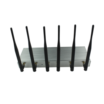 Desktop 6 band mobile phone jammer