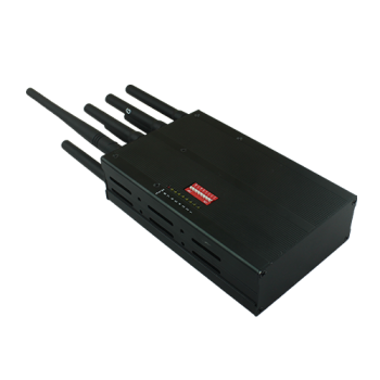 multifunctional portable 8 band LOJACK and GPS cell phone signal jammer 2G/3G/4G mobile phone jammer