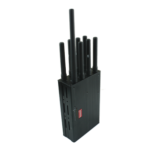 multifunctional portable 8 band LOJACK cell phone signal jammer