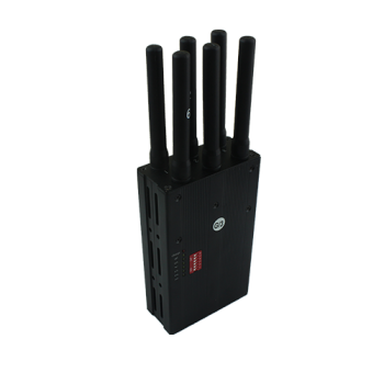 Handheld wimax and WIFI cell phone signal jammer