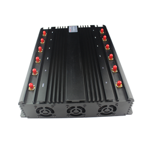 High Power GPS L1 L2 L5 Desktop12 Antenna Mobile Phone  Jammer  Power desktop UHF/VHF signal jammer