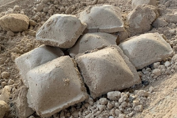 caustic calcined magnesia briquettes 60%