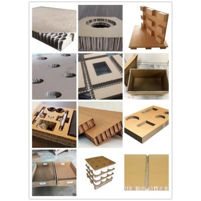 Heavy duty packaging Honey comb core paper cardboard sandwich panels