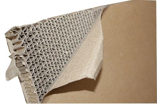 Brown corrugated honeycomb - 2440x1200 mm hot sale corrugated honeycomb