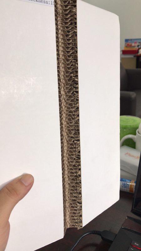 V cut corrugated honeycomb - 2440x1200 mm hot sale corrugated honeycomb