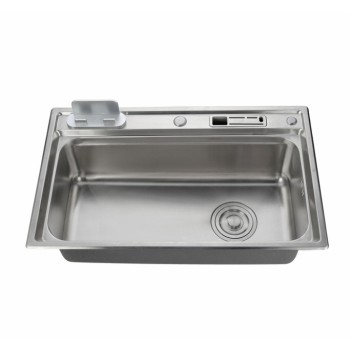 Produce Kitchen Sinks Brushed Surface Stainless Steel Sink