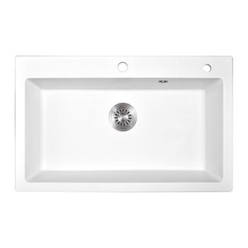 New product 2019 innovative product Mediterranean style decorative quartz stone sink