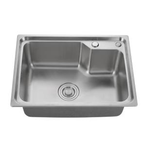 SUS304 durable stainless steel handmade single bowl sink for kitchen