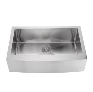 Kitchen handmade single bowl 304 stainless steel farmhouse sink