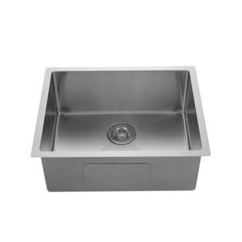 16 Gauge Nano Single Bowl Undermount Silver White Stainless Steel Kitchen Sink