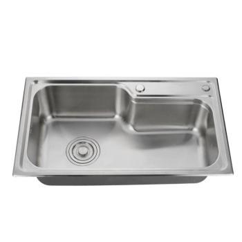 Simple rectangular kitchen sink 304 stainless steel countertop kitchen sink