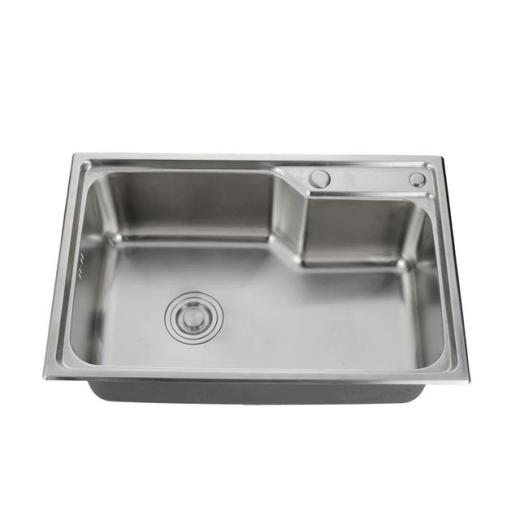 Stainless steel sink installation process