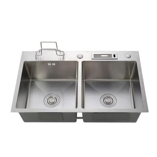 Kitchen stainless steel sink installation precautions