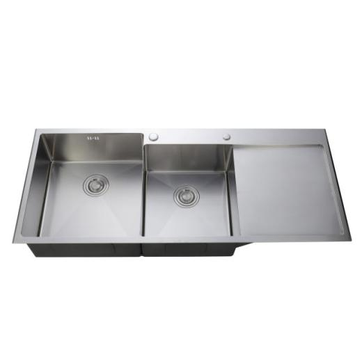 What is the way to install the kitchen sink?