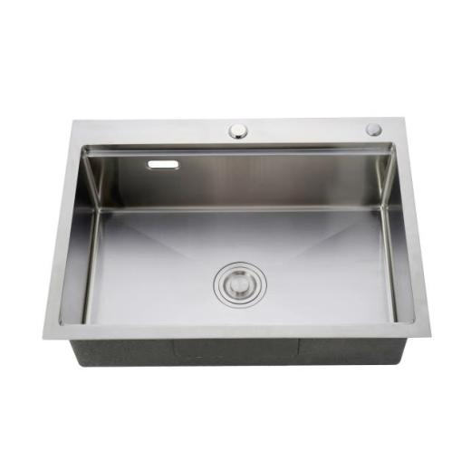Stainless steel sink opening method Stainless steel sink installation precautions