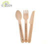 Eco-Friendly Disposable Wooden Cutlery Set - 140mm for Fast food