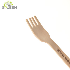 Eco-Friendly Disposable Wooden Cutlery Set-140mm