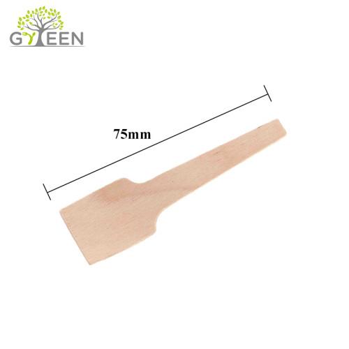 Petite cuillère en bois jetable biodégradable écologique