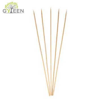 Espeto de bambu redondo Eco-Friendly / vara do BBQ
