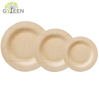 Eco Friendly Disposable Bamboo Plate