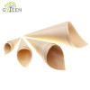 Eco-Friendly Biodegradable Disposable Wooden Cone Food Containers